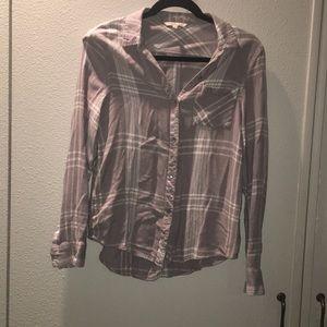Calvin Klein Collection Tops - Grey flannel